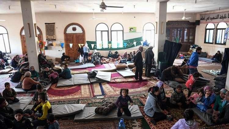 مصادر أممية: ارتفاع عدد النازحين من عفرين إلى 170 ألف شخص