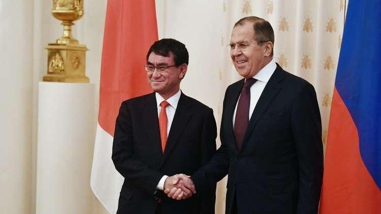 زيارة مرتقبة لوزير الخارجية الروسي إلى اليابان