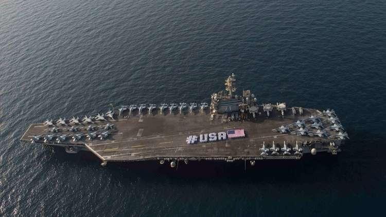البحرية الأمريكية تشيد بالوجود الإيراني في مياه الخليج!