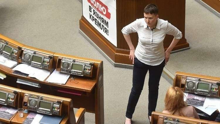 سافتشينكو تنفي اتهامات بالتخطيط لعمل إرهابي في البرلمان الأوكراني