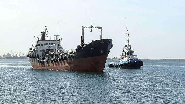 البحرية الليبية تحتجز ناقلة نفط يونانية