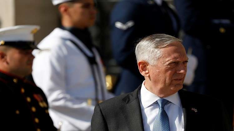 ماتيس: وقف دعم التحالف العربي سيزيد الحوثيين جرأة