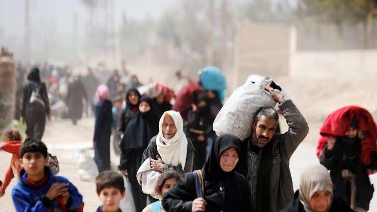 الدفاع الروسية تتوقع إجلاء 20 ألف مدني عن الغوطة الشرقية اليوم