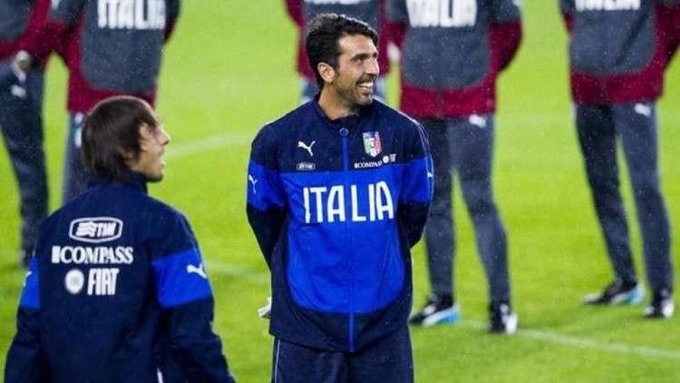 رسميا.. بوفون يعود إلى صفوف المنتخب الإيطالي