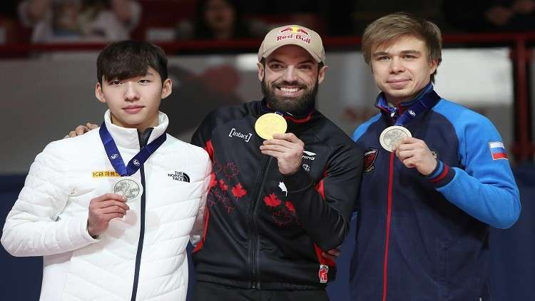 الروسي يليستراتوف يهدي بلاده ميداليتين في بطولة العالم للتزلج
