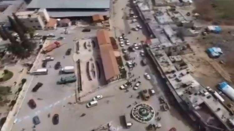 مشاهد جوية من عفرين بعد سيطرة تركيا عليها