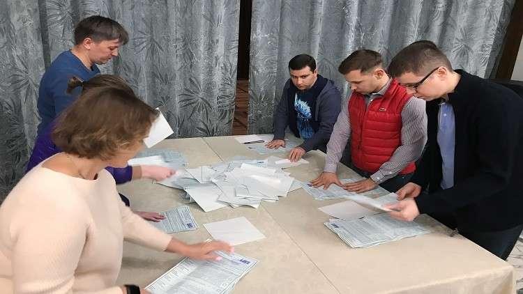 إقبال عال في دمشق على التصويت في الانتخابات الرئاسية الروسية