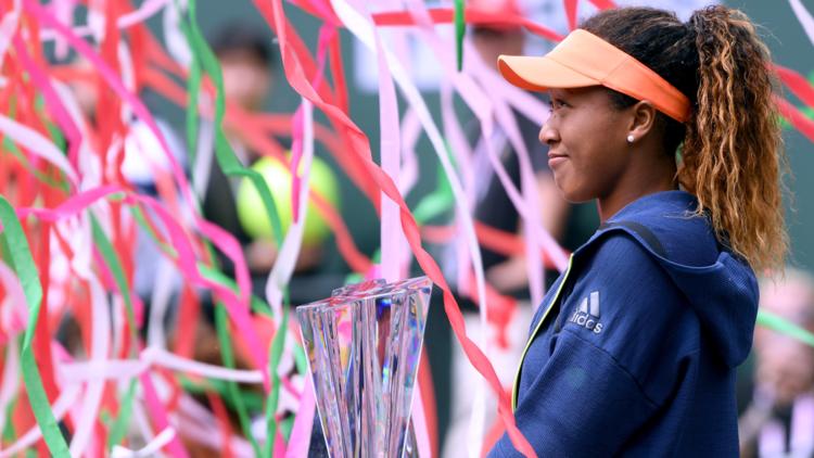 اليابانية أوساكا تحرز لقب بطولة إنديان ويلز