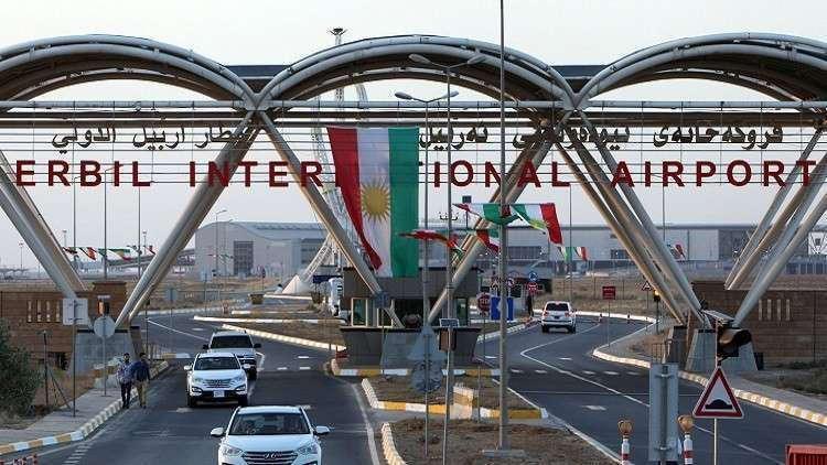 وصول أول طائرة سعودية إلى مطار أربيل