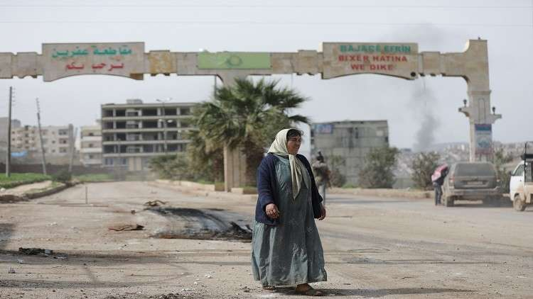 مقتل 7 مدنيين و4 عناصر من الجيش السوري الحر بتفجير وسط عفرين