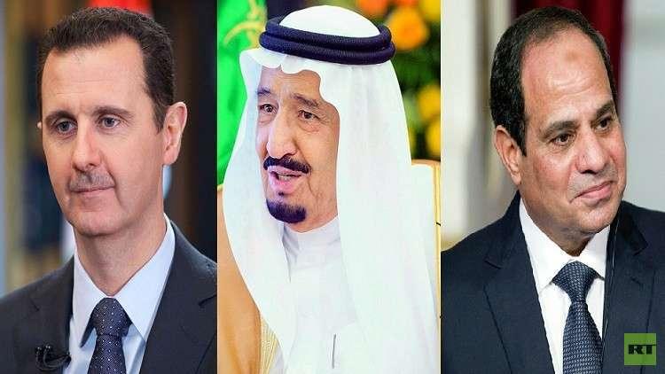 زعماء عرب يهنئون بوتين