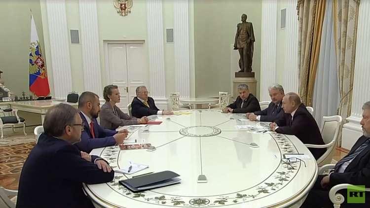 بوتين لمنافسيه السبعة: