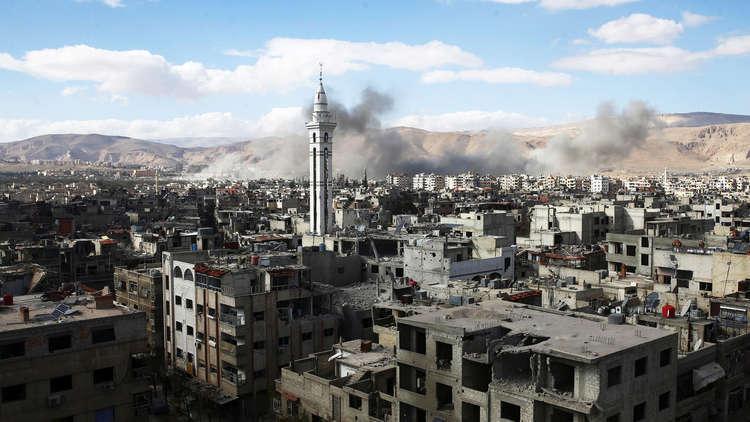 قتلى في قصف صاروخي على أحياء دمشق