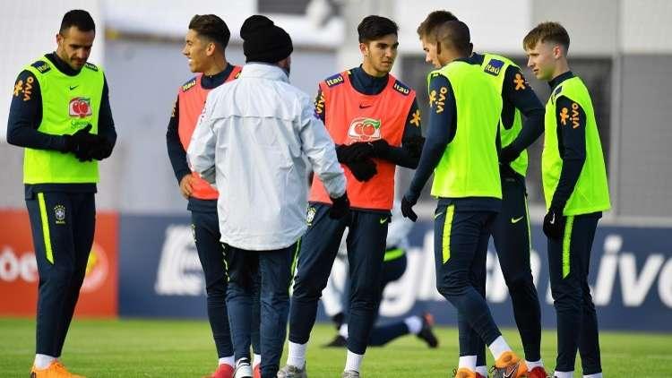 السيليساو البرازيلي في موسكو لمواجهة روسيا استعدادا لمونديال 2018