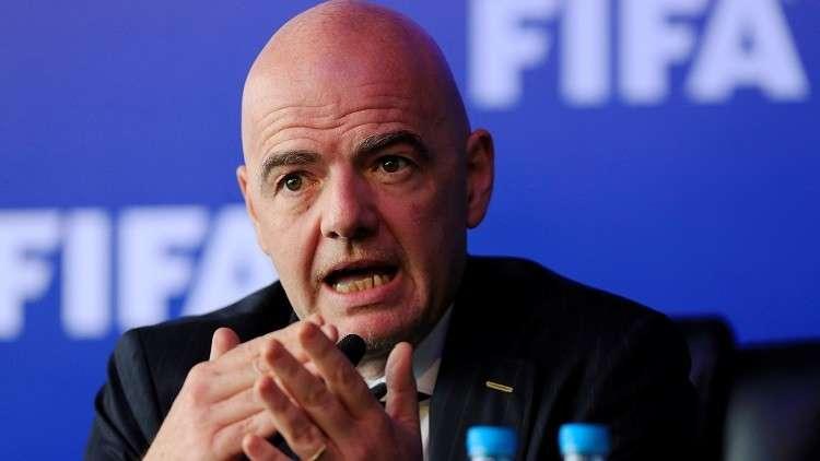 رئيس الفيفا يتوعد كل من يسعى لإفساد مونديال روسيا