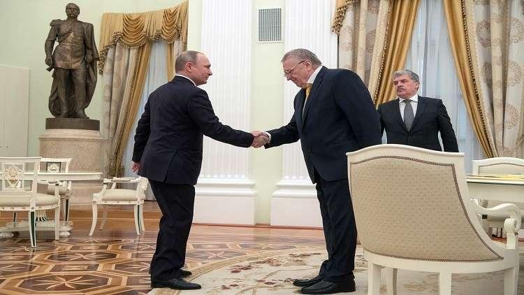 جيرينوفسكي: أبلغت بوتين بضرورة إلغاء منصب الرئيس في روسيا