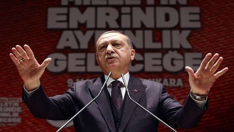أردوغان يطالب الاتحاد الأوروبي ببقية الأموال المخصصة للاجئين