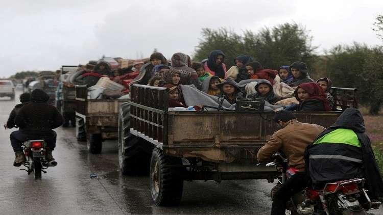 نزوح 2700 نسمة عن عفرين إلى منبج في ليلة واحدة