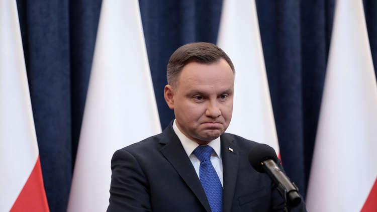 الرئيس البولندي يرفض تهنئة بوتين بفوزه في الانتخابات الرئاسية