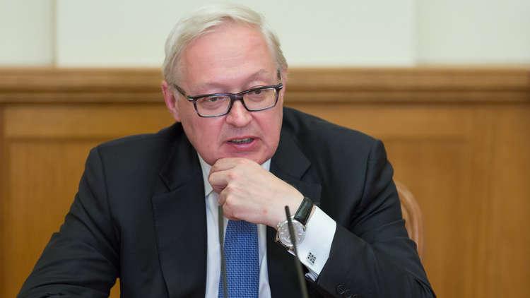 ريابكوف: موسكو تدعو الولايات المتحدة للتخلي عن خطط لتوجيه ضربة إلى دمشق