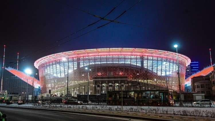 الفيفا راض عن تحضيرات مدينة يكاترينبرغ لمونديال 2018 (صور)