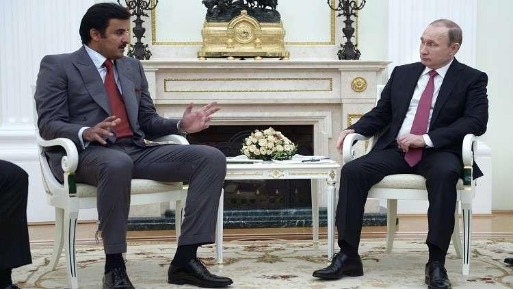 الكرملين: بوتين يلتقي أمير قطر الأسبوع المقبل في موسكو