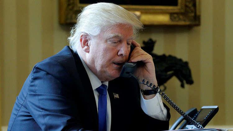 ترامب يهنئ بوتين بالفوز في الانتخابات ويبحث معه الحد من سباق التسلح