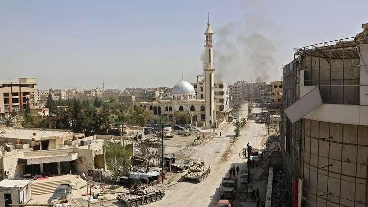 سقوط 37 قتيلا بقصف على جرمانا في ريف دمشق