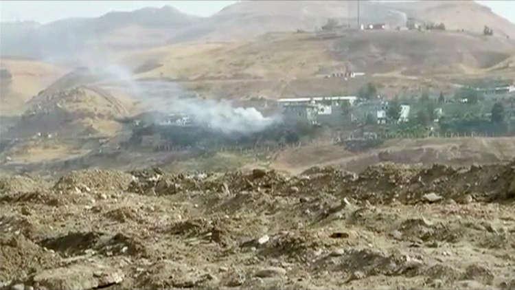 مصرع 12 مقاتلا كرديا بقصف تركي شمالي العراق