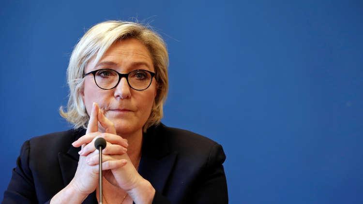 مارين لوبان: يجب التعامل بجدية مع قضية التمويل الليبي لحملة ساركوزي