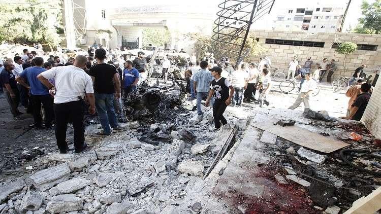 موسكو تندد بالاعتداءات الدامية على دمشق وضواحيها