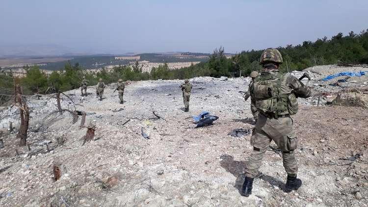الصواريخ الروسية هاجمت أهدافا في تركيا