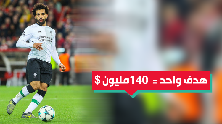 140 مليون دولار من فودافون مقابل كل هدف جديد للفرعون محمد صلاح