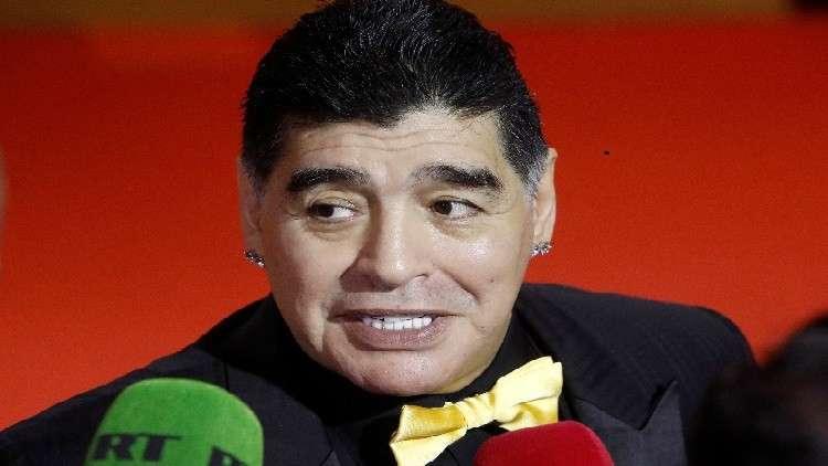 مارادونا يرشح منتخبين للتتويج بمونديال روسيا ويستبعد فرنسا