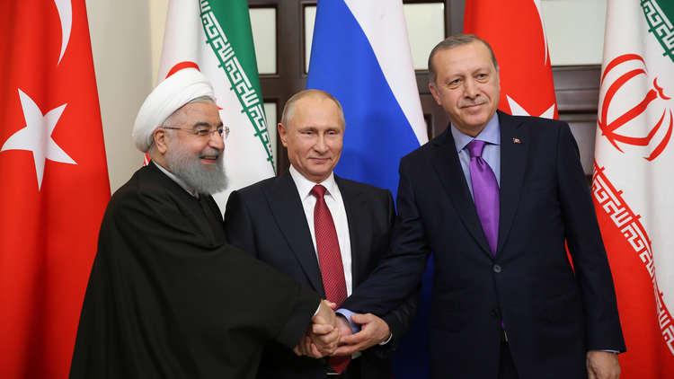 تحالف تركيا مع روسيا وإيران يفقد معناه في سوريا