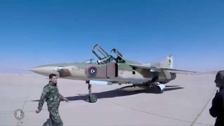قسم من ترسانة الجيش الليبي الجوية!