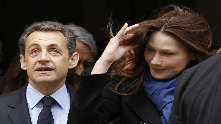 زوجة ساركوزي تعليقا على اعتقاله: أفتخر بك.. أنت على حق