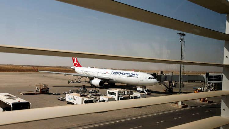 تركيا ترفع الحظر عن حركة الرحلات الجوية إلى أربيل