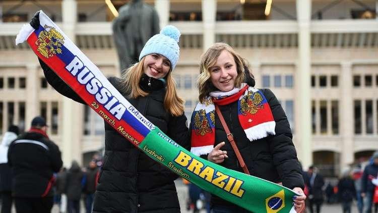 التشكيلة الأساسية لمواجهة روسيا والبرازيل