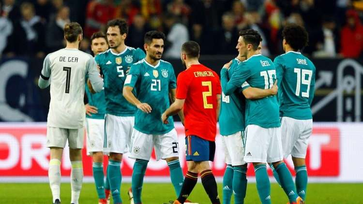 شاهد.. أهداف مباراة ألمانيا وإسبانيا