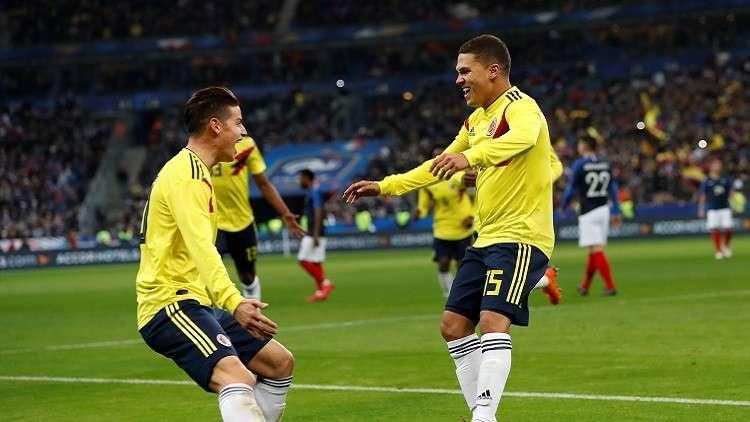 كولومبيا تقلب الطاولة على فرنسا في مباراة مثيرة (فيديو)