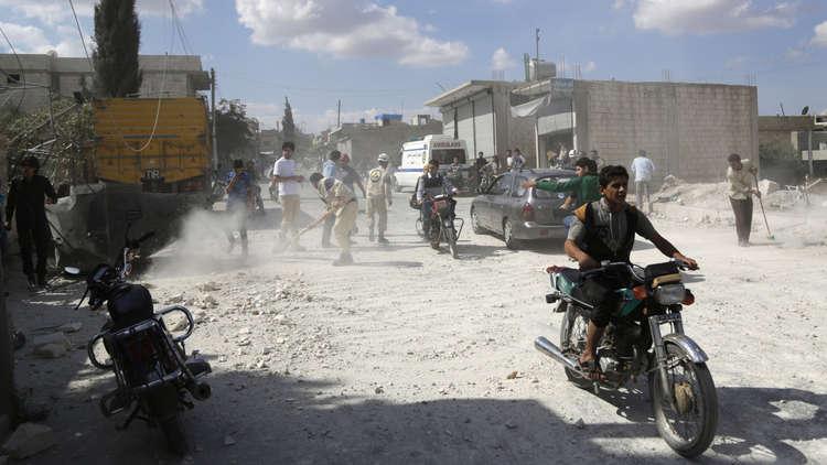 قتلى وجرحى جراء تفجير سيارة مفخخة وسط إدلب