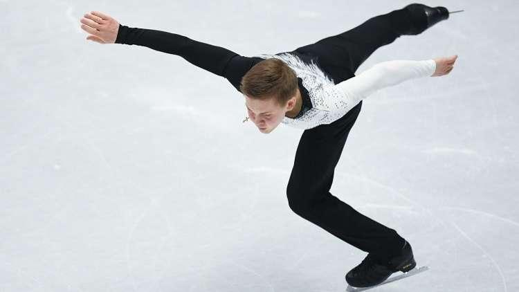 الروسي كوليادا يفوز ببرونزية التزحلق الفني على الجليد