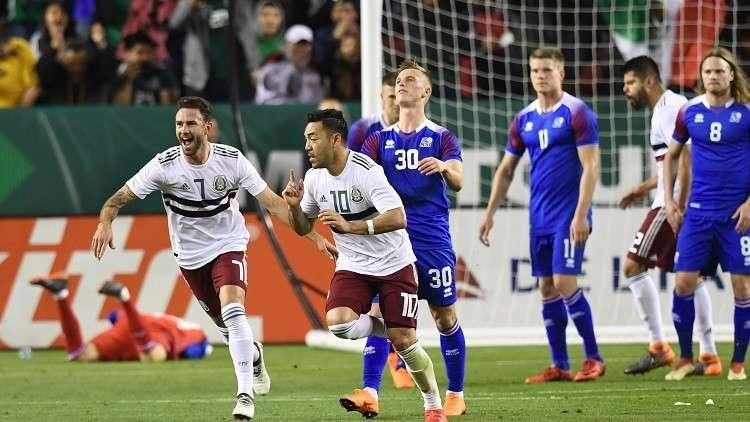 المكسيك تقسو على آيسلندا بثلاثية وديا