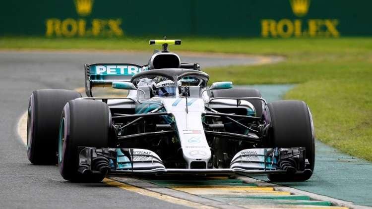 هاميلتون أول المنطلقين في سباق جائزة أستراليا للفورمولا 1
