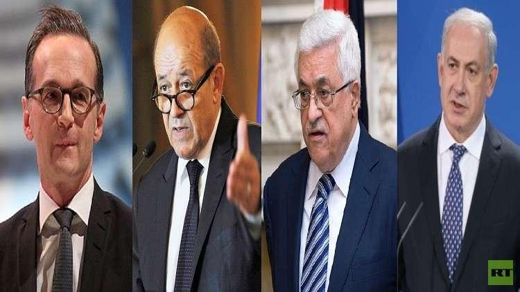 وزيرا خارجية ألمانيا وفرنسا في إسرائيل