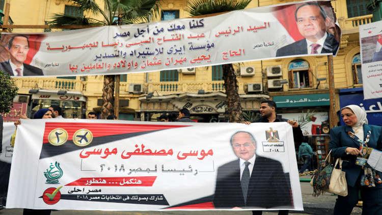 مرشح للانتخابات الرئاسية المصرية يأمل في الحصول على 50% من الأصوات