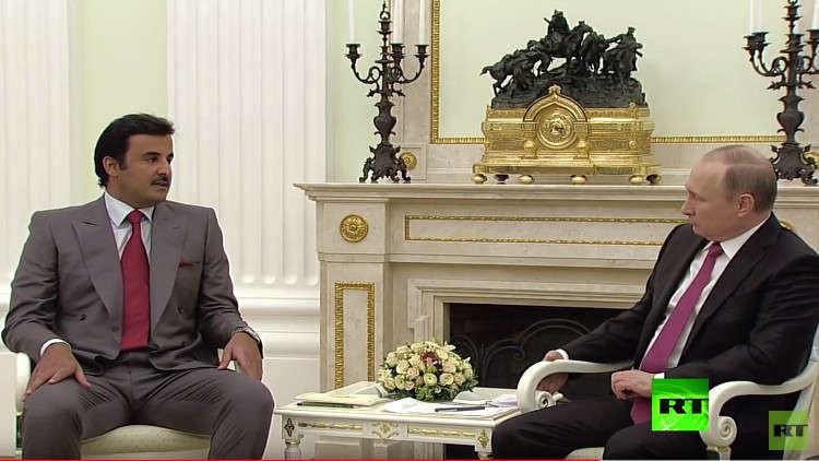 وزير قطري يعلق على زيارة الأمير تميم لموسكو