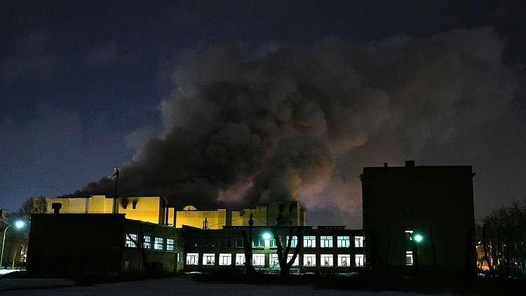52 مليون دولار أضرار حريق المركز التجاري في مدينة كيميروفو الروسية