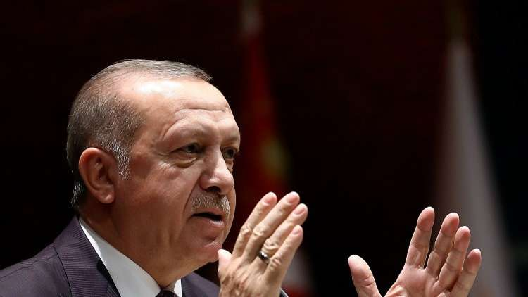 أردوغان: هدفنا الاستراتيجي الانضمام إلى الاتحاد الأوروبي